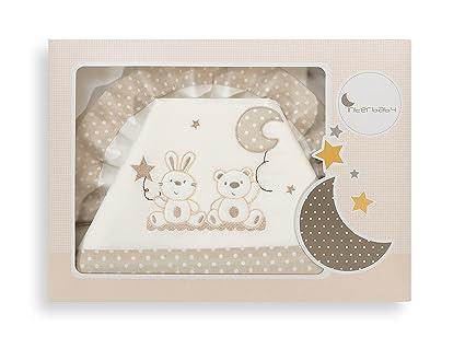Interbaby 02067-05 - Juego de sábanas para carritos de bebés (3 piezas)