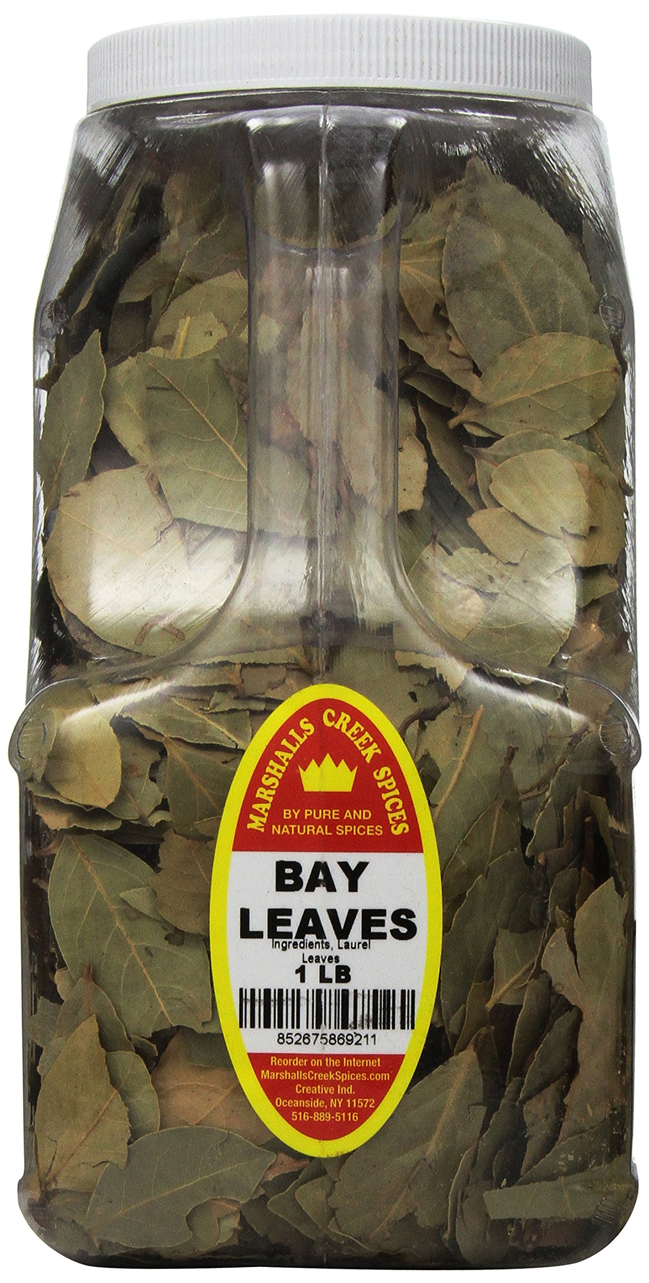 Marshalls Creek Spices Bay Leaves, XX-Large, 1 Pound