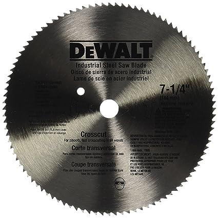 Dewalt dw3324 7 14 inch 100 tooth atb crosscut saw blade with 58 dewalt dw3324 7 14 inch 100 tooth atb crosscut saw blade with greentooth Gallery