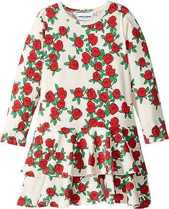 Mini Rodini Rose Kleid, Kinder, 80 - 86, Altweiß: Amazon.de: Bekleidung