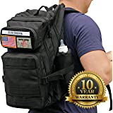Diaper Backpack & Changing Pad Combo By Active Doodie - Durable Black diaper bag backpack w 10 Year Warranty