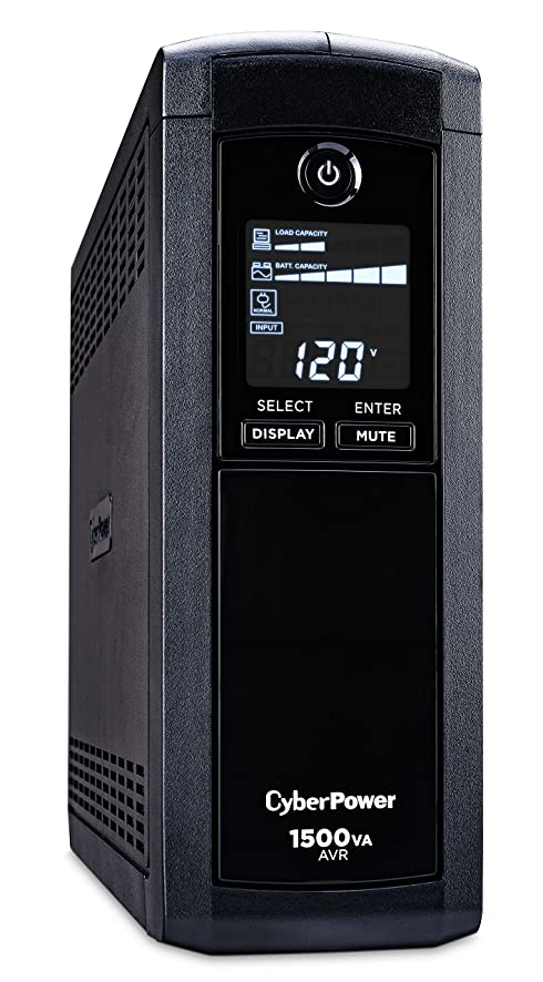 91we9rHW4oL._SY886_ amazon com cyberpower cp1500avrlcd intelligent lcd ups system  at honlapkeszites.co