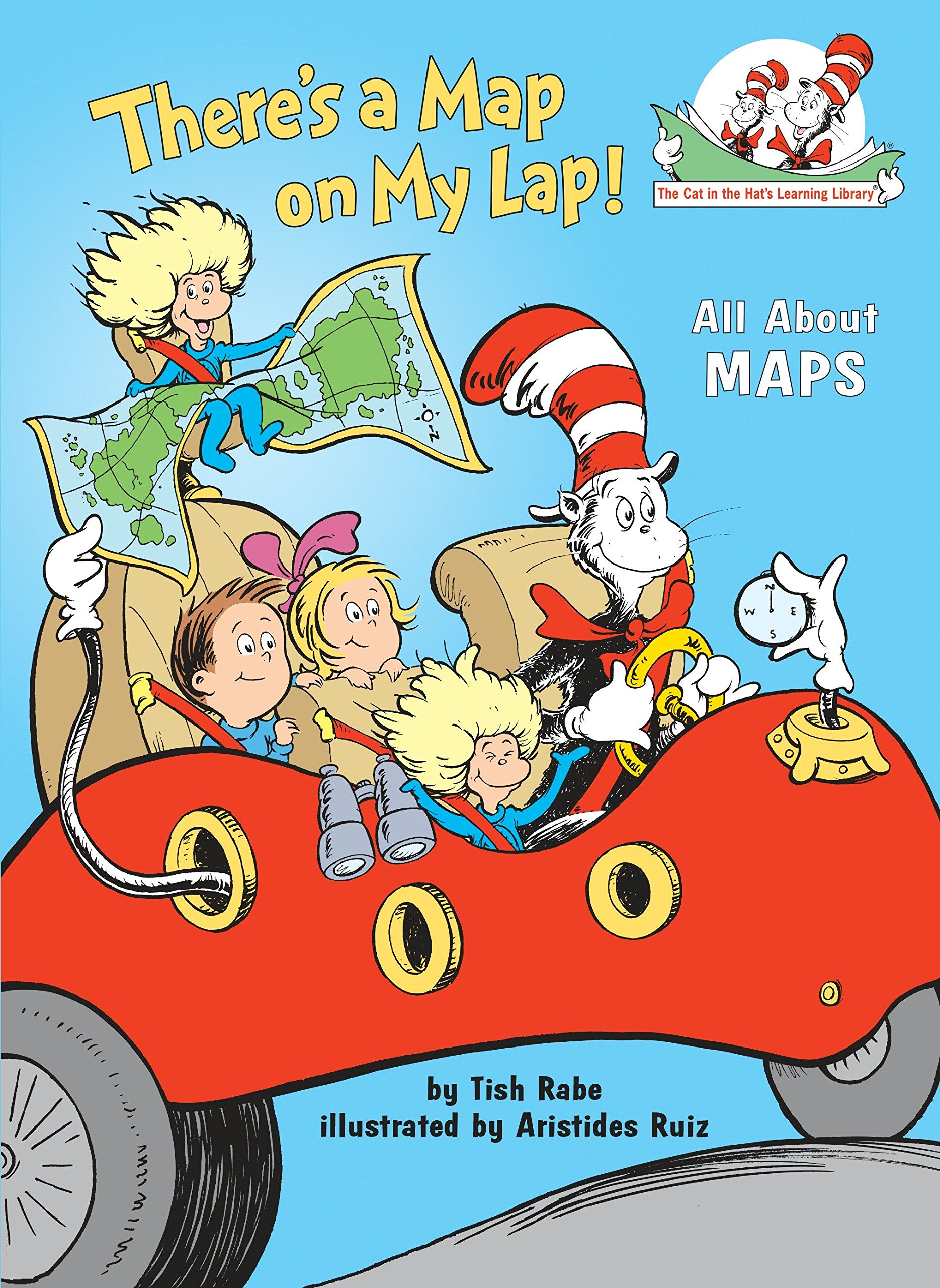 Children's Books About Countries of the World featured by top US travel blogger, Marcie in Mommyland: There's a Map on my Lap