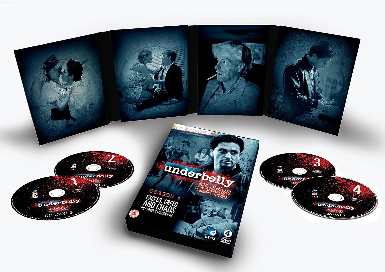 Underbelly -The Golden Mile, Season 3 [DVD]: Amazon co uk