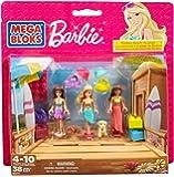 Mega Bloks - 80111 - Jeu De Construction - Barbie - Beach Vacation - 38 Pièces