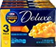Kraft Deluxe Original Cheddar Macaroni & Cheese Dinner (3 - 14 oz Boxes)