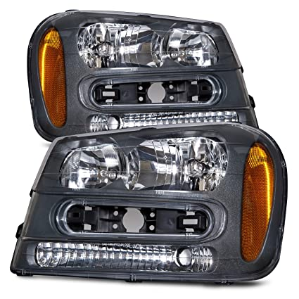 Amazon headlights depot replacement for chevrolet chevy headlights depot replacement for chevrolet chevy trailblazer new headlamps headlights set freerunsca Images