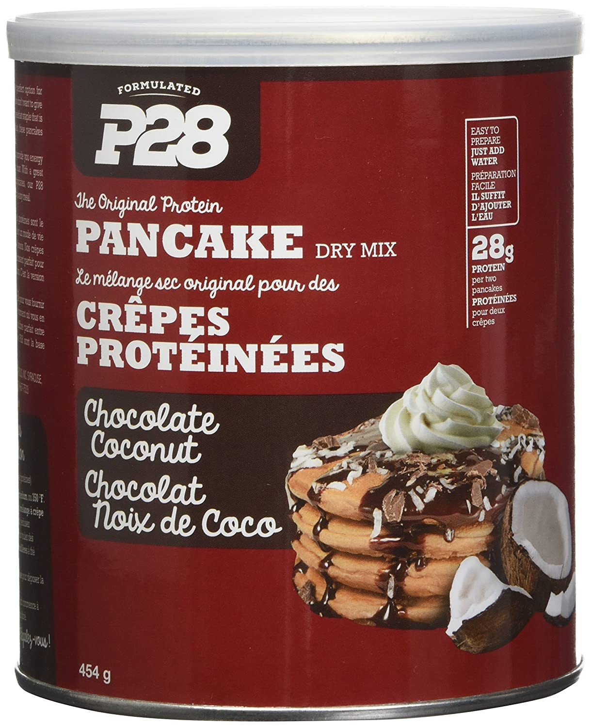 Amazon p28 foods the original high protein pancake dry mix amazon p28 foods the original high protein pancake dry mix chocolate coconut 16 ounce health personal care ccuart Gallery
