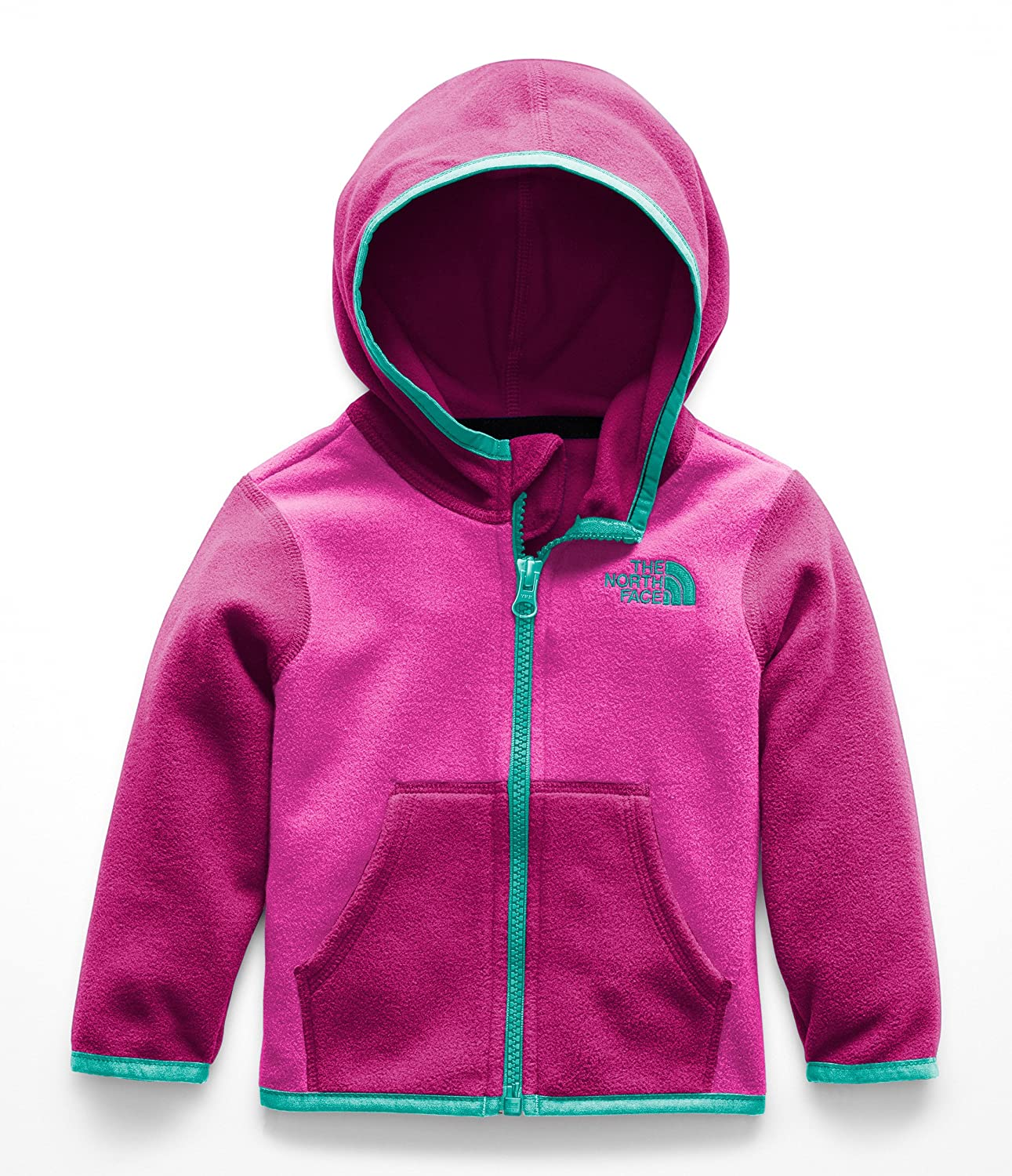 The North Face Baby Girls' Glacier Full Zip Hoodie (Infant) A8A3
