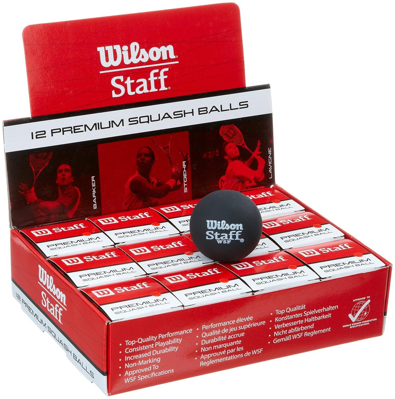 Wilson Squash Balls (doz), 12 Stück red t6191 red
