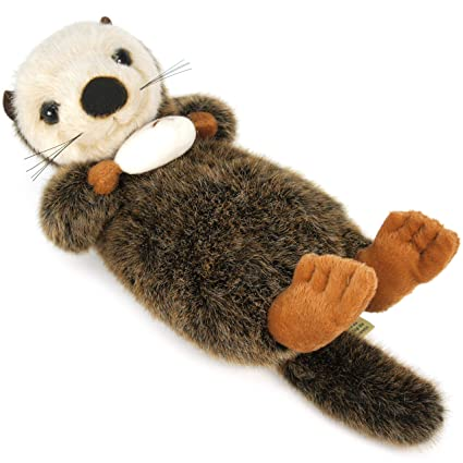 Amazon Com Viahart Owen The Sea Otter 10 Inch Stuffed Animal