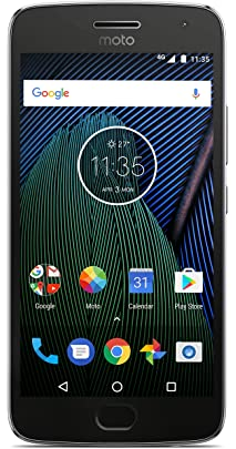 Moto G5 Plus  32 GB, Lunar Grey  Smartphones
