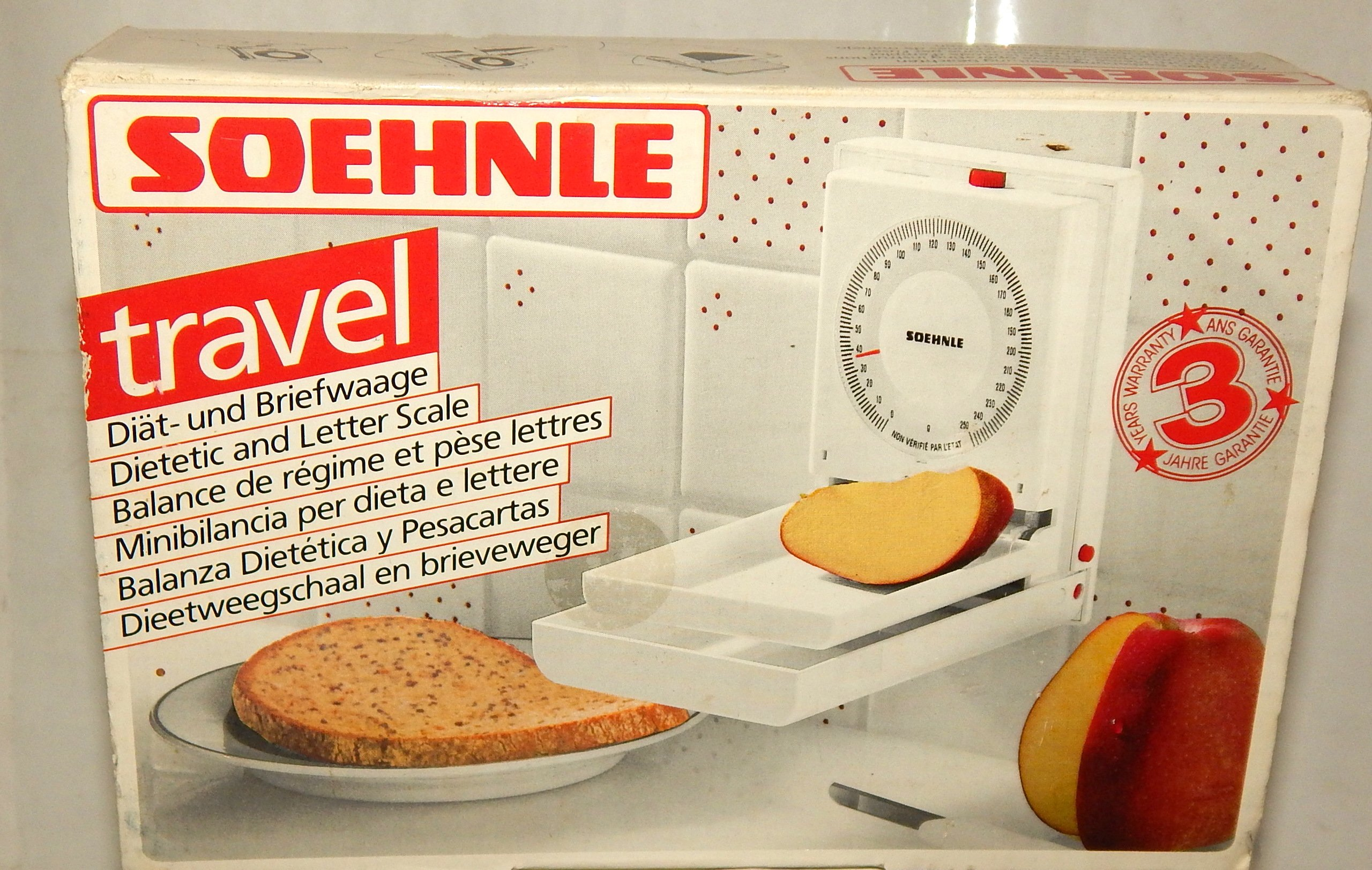 Soehnle Travel Food Postal Scale Grams Dial Made Switzerland