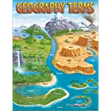 Trend Enterprises Geography Terms Learning Chart (T-38118)