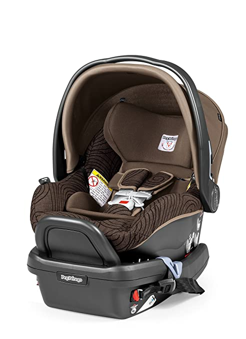 Peg Perego Primo Viaggio Car Seat, Circles Choco by Peg Perego