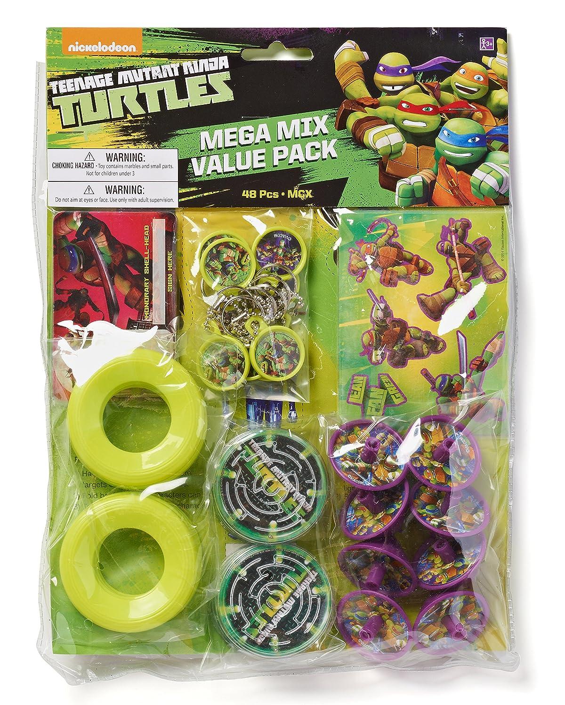 American Greetings Teenage Mutant Ninja Turtles Party Favor Pack Value Pack American Greetings Toys 5301462