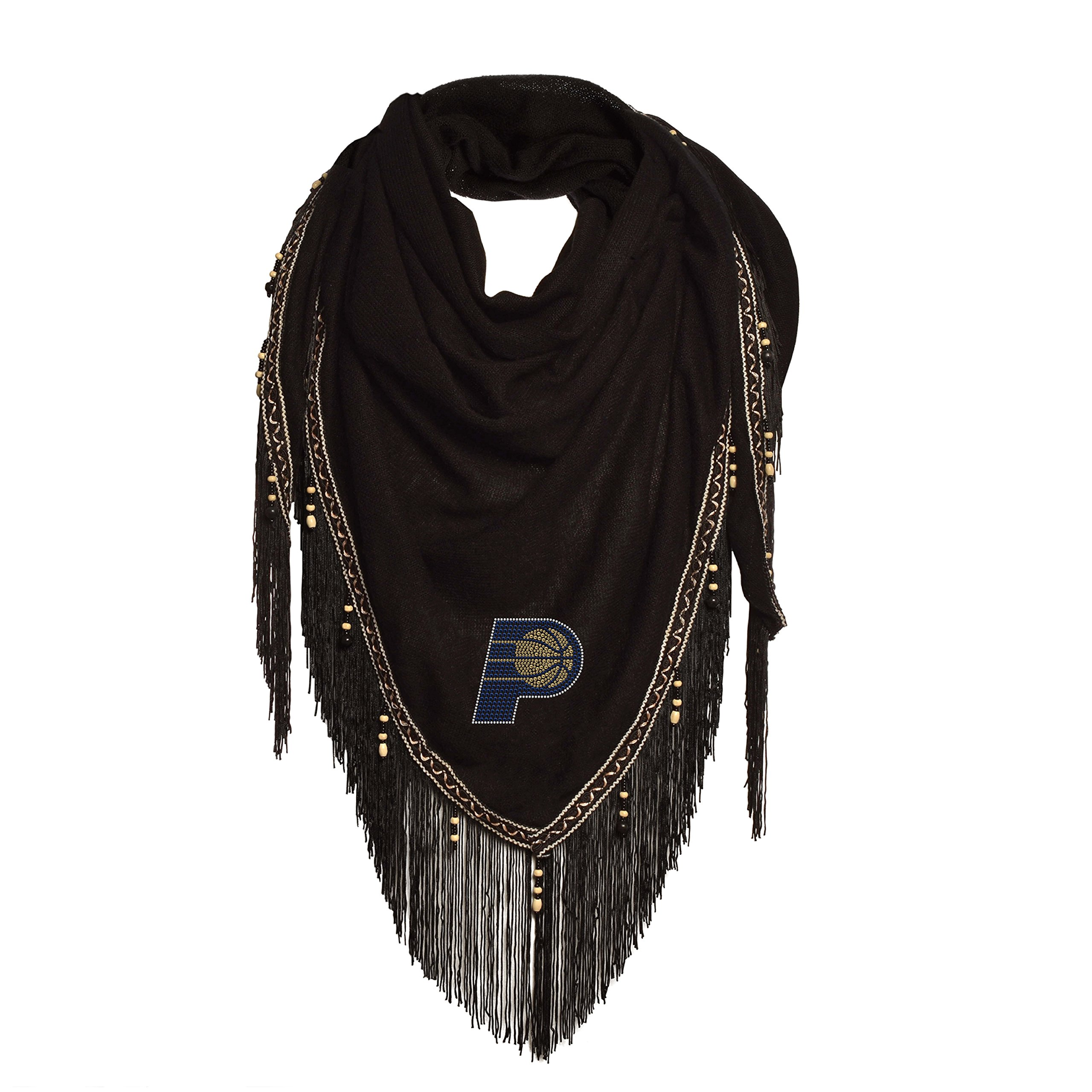 Littlearth NBA Indiana Pacers Beaded Scarf