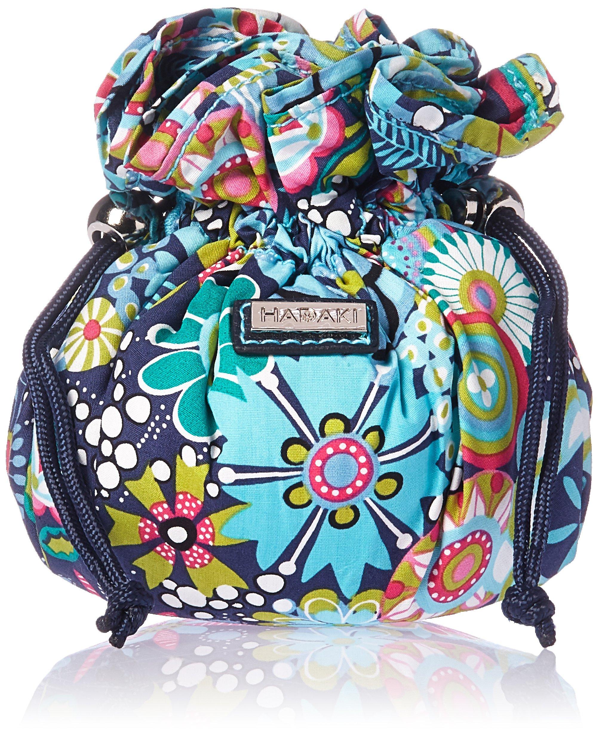 Hadaki Cotton Jewelry Sack Backpack,Dixie Daisies,One Size
