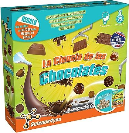 Science4you - La Ciencia de los Chocolates, Juguete Educativo y científico (602816)