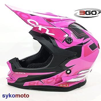 3GO XK188 MOTOCICLETA BICI QUAD ATV ENDURO MOTOCROSS OFF ROAD PARA NIÑOS ROSA