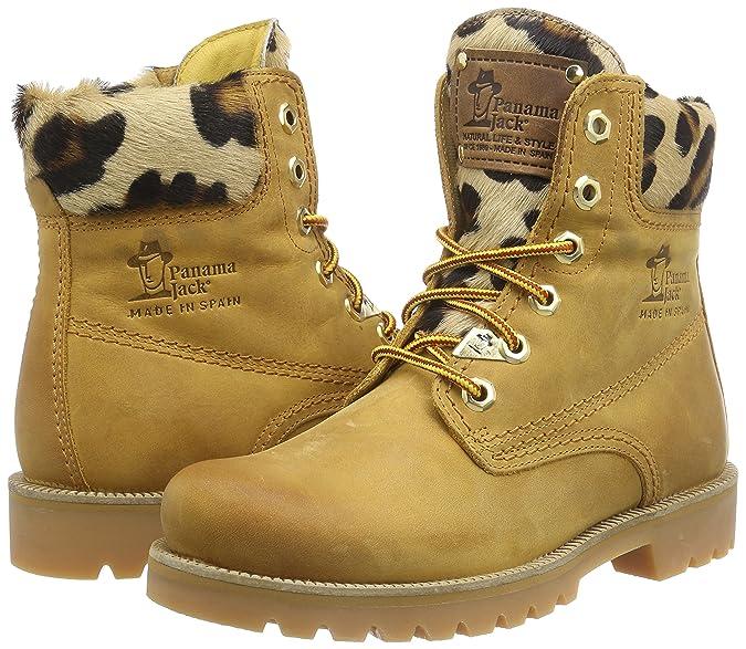 PANAMA JACK Panama 03 Leopardo B1 - Botas de Piel Mujer: Amazon.es: Zapatos y complementos