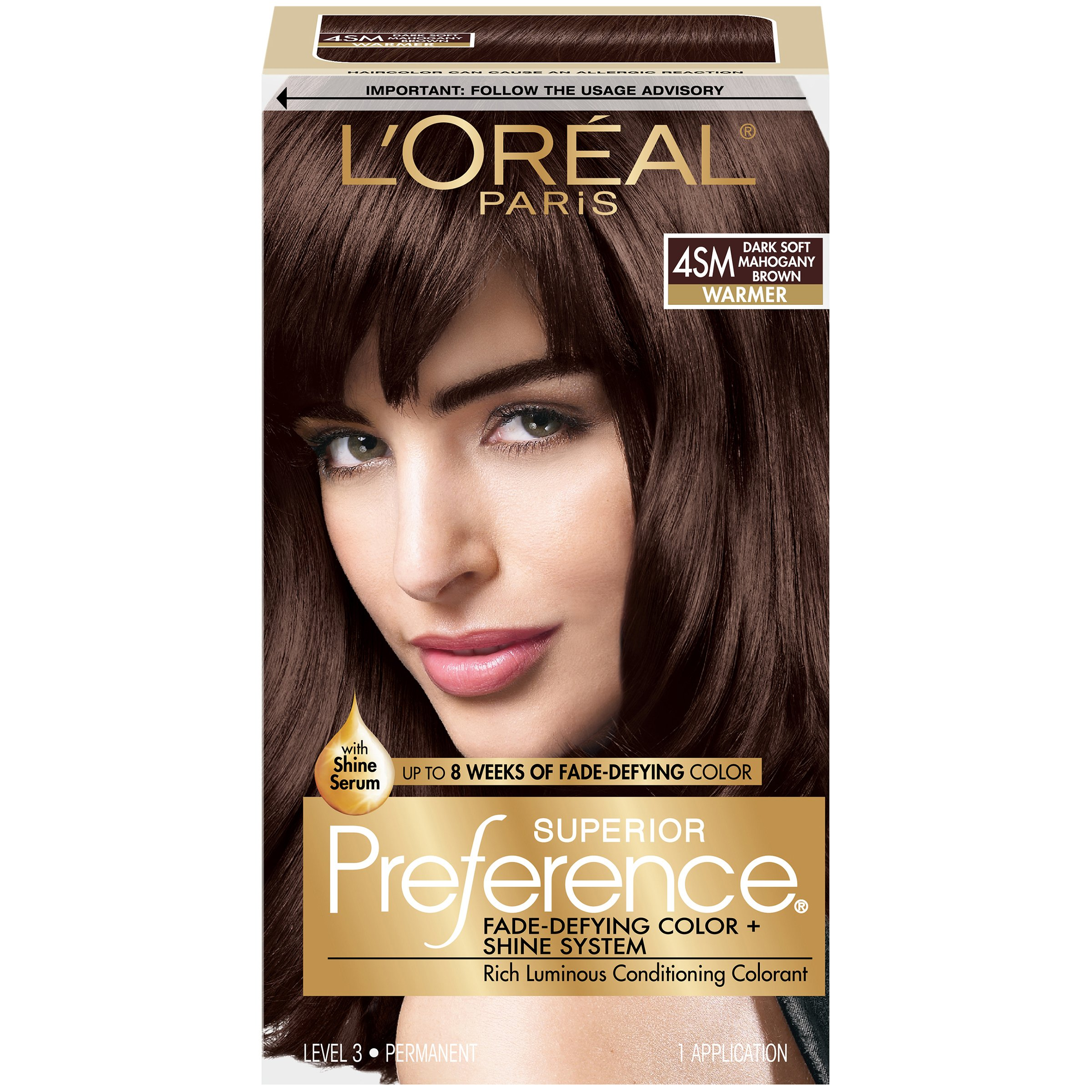 amazoncom loreal superior preference 4sm dark soft
