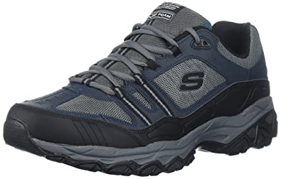 Skechers Sport Men 's Afterburn Memory Foam Lace up Sneaker B00FFXUU6G