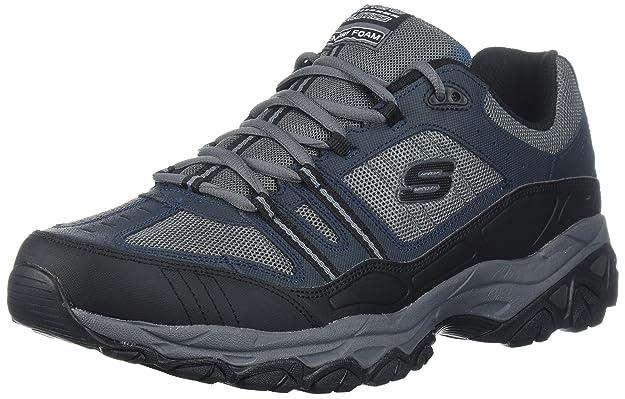 Skechers Sport Men's Afterburn Strike Memory Foam Lace-Up Shoes review