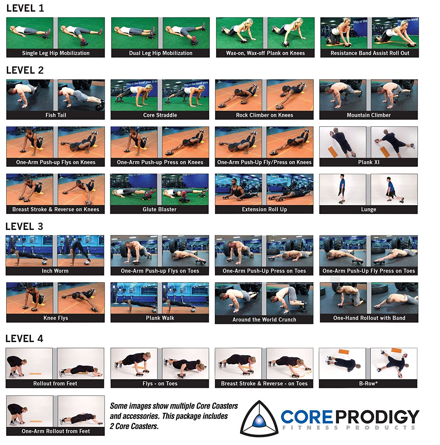 amazon com core coaster ab core and total body exercise