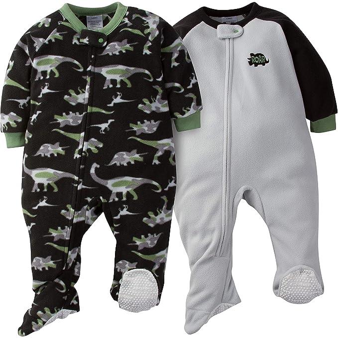 646d9d6b0 Amazon.com: Gerber Baby Boys' 2-Pack Blanket Sleeper: Clothing