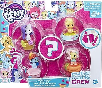 Hasbro My Little Pony Cutie Mark Crew Ass Chica - Kits de Figuras de Juguete para niños (4 año(s), Chica, Multicolor, Animales, My Little Pony): Amazon.es: Juguetes y juegos