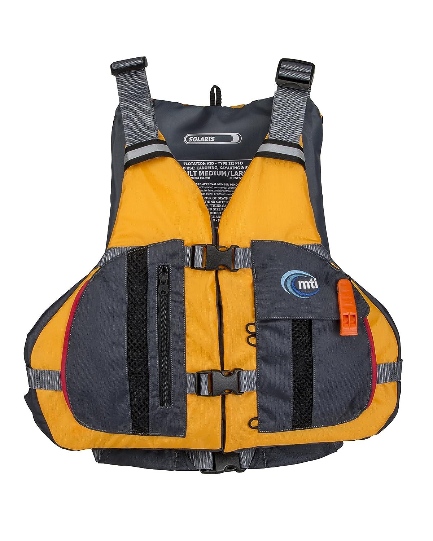 36-46 MTI Solaris Life Jacket Mango//Gray MTI Adventure Wear MTI-807L-0EA45 MD//LG