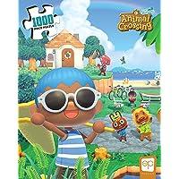 USAopoly Rompecabezas de 1000 Piezas de Animal Crossing Summer Fun | Puzzle Coleccionable con Personajes Familiares del…