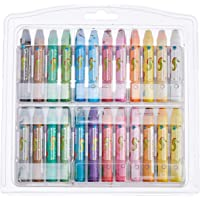 STABILO 2624 Oil Pastels, Pack of 24