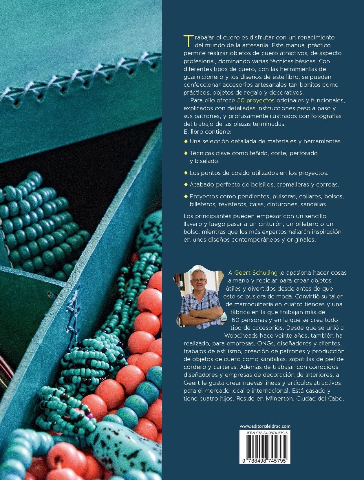 Curso práctico de cuero: GEERT SCHULING: 9788498745795: Amazon.com: Books
