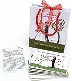 52 postkarten hochzeit portofrei m glich postkarten set hochzeit mit 52 karten. Black Bedroom Furniture Sets. Home Design Ideas