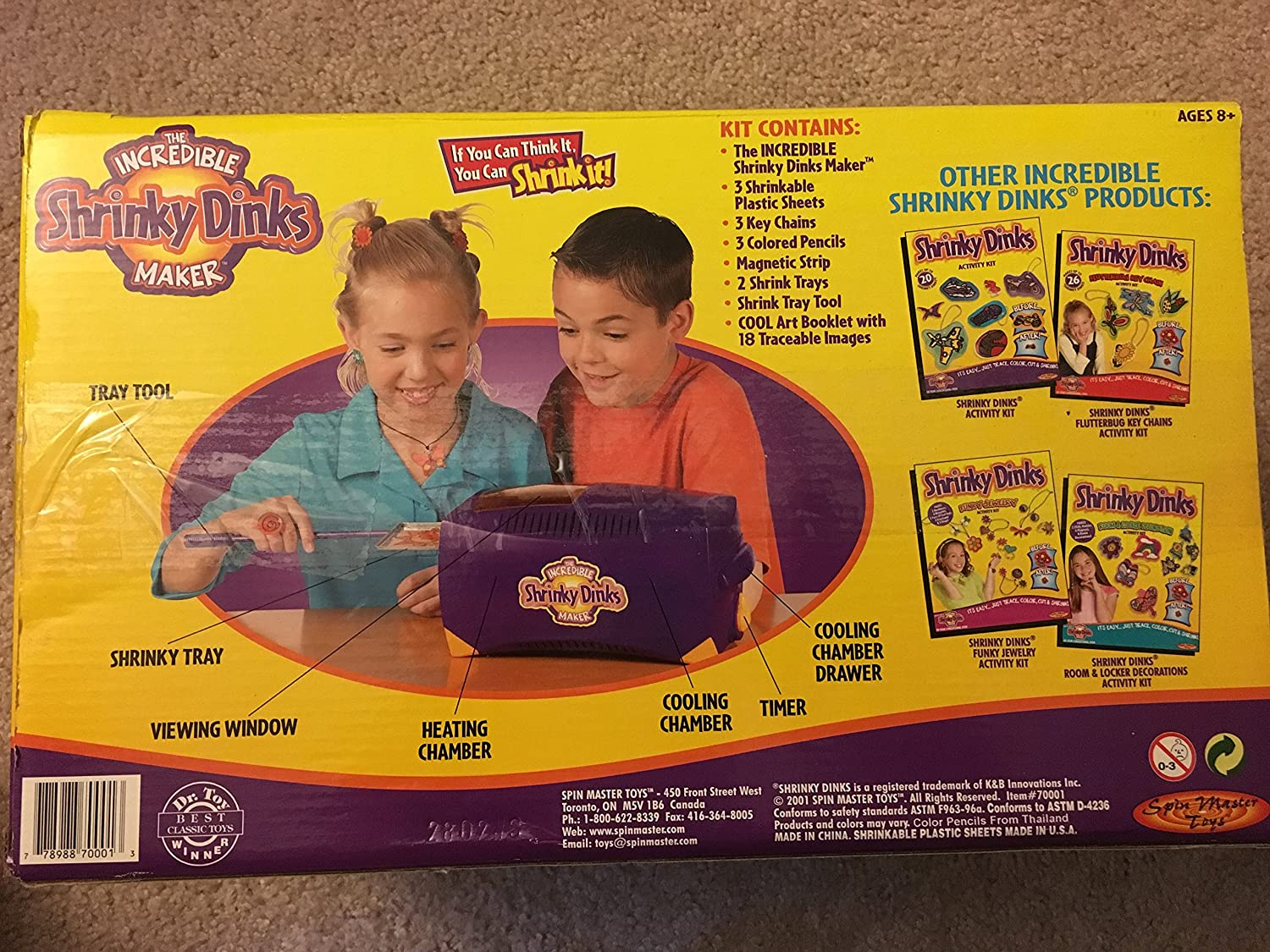 Amazon. Com: the incredible shrinky dink maker: toys & games.