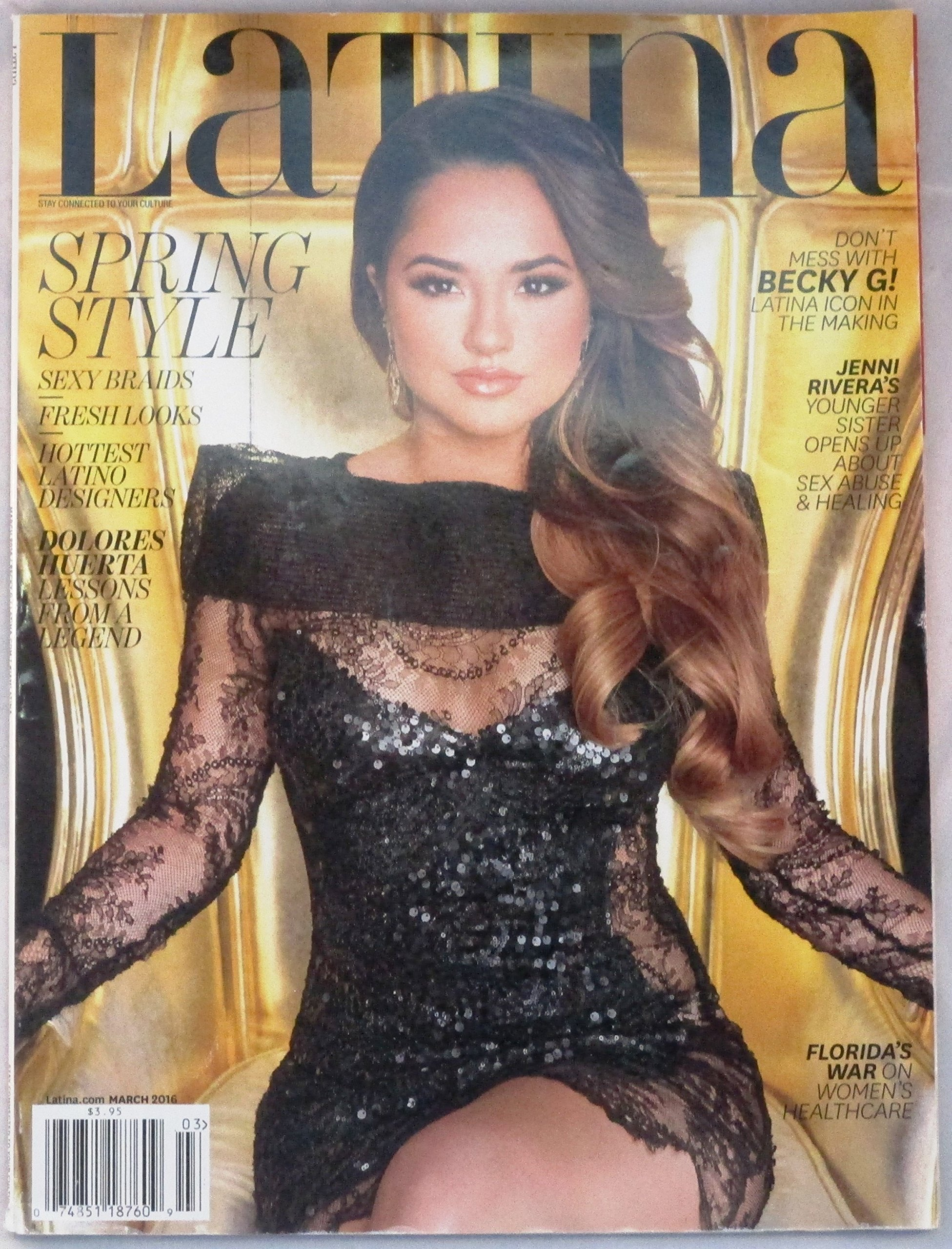 Download Latina Magazine (March 2016 - Cover: Becky G) PDF