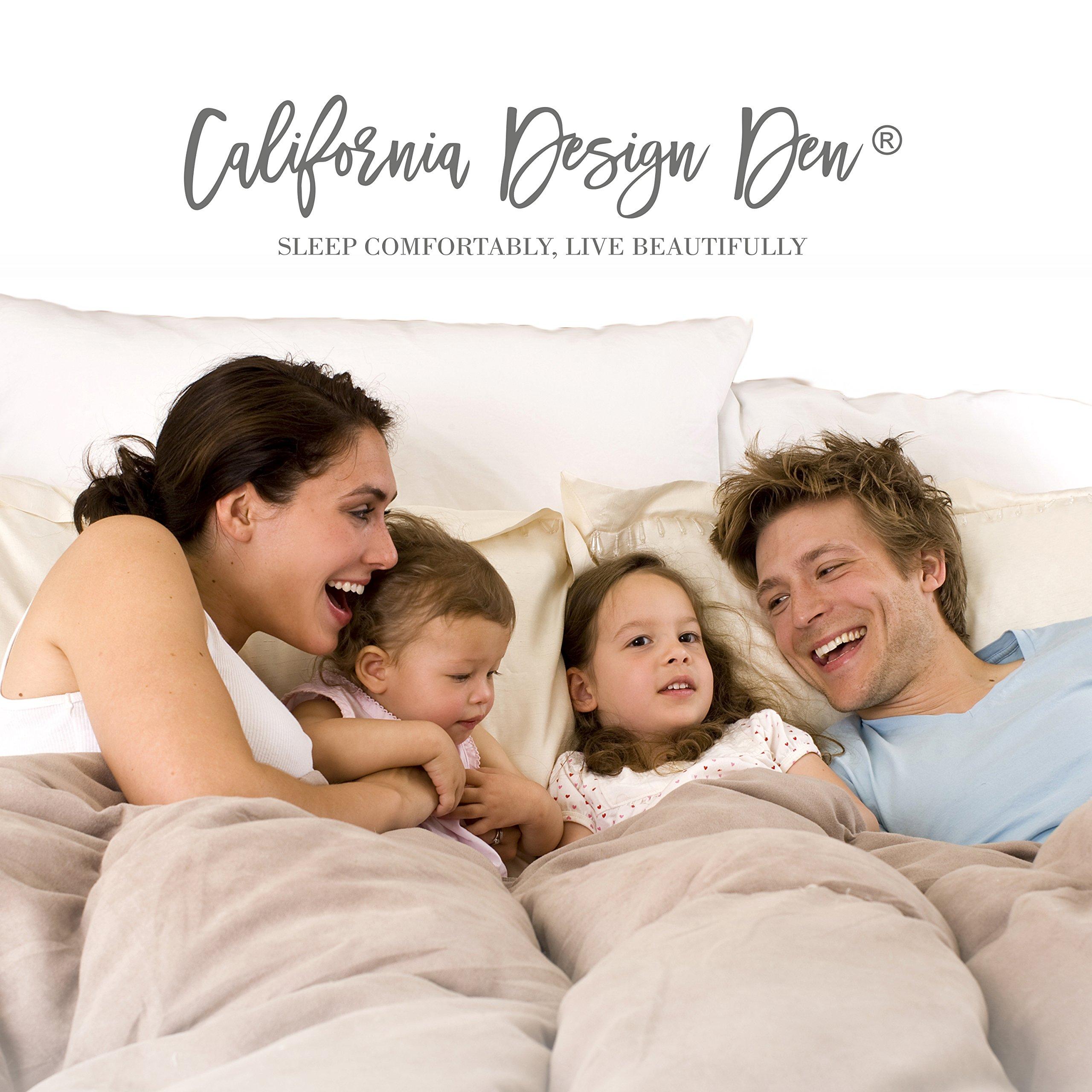 California Design Den Quilt Set, Light Grey, Full/Queen