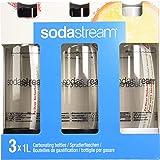SodaStream 2260525 Bottiglie per gasare, confezione da 3 x 1 Litro