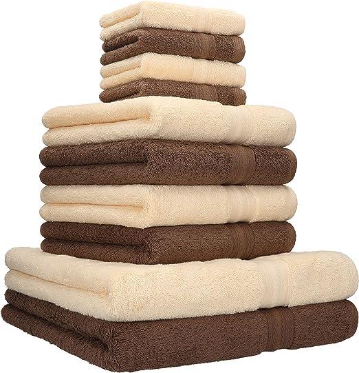 Betz 10-tlg Handtuch-Set CLASSIC 100/% Baumwolle