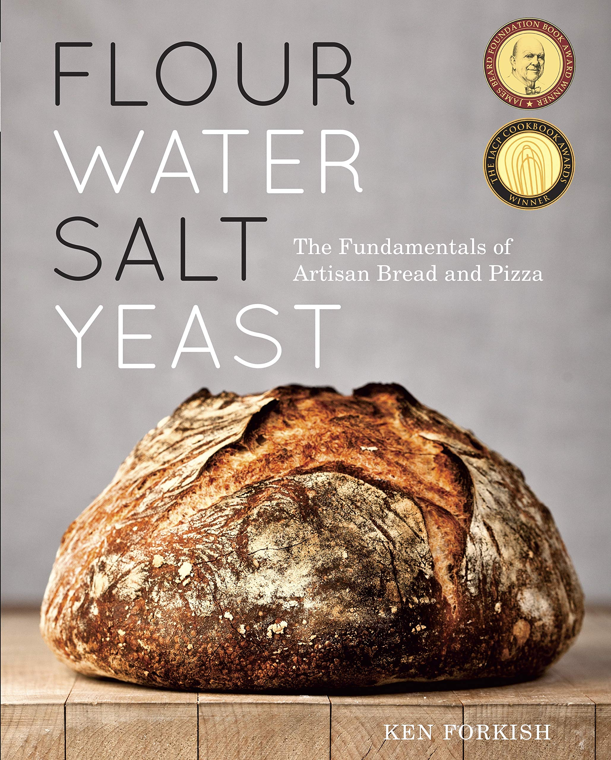 BUY this book: Flour Water Salt Yeast: The Fundamentals of Artisan Bread and Pizza