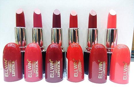 Ellwin New Fashion Professional Matte Lipstick Amazonin Beauty