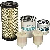 OEM Kubota Filter Kit for BX24 BX25 BX2230 BX2350 BX2360 BX2370