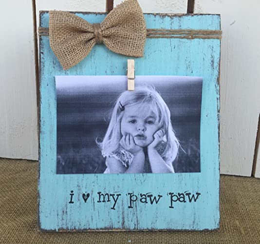 Amazon.com: Father\'s Day Gift | Personalized Grandfather Picture ...