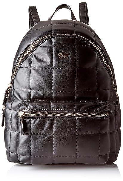 Guess - Urban Sport Leeza Backpack, Mujer, Negro (Nero), 30x38.