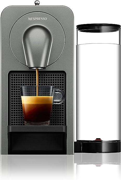 Krups Prodigio Independiente Máquina de café en cápsulas 0,8 L Totalmente automática - Cafetera (Independiente, Máquina de café en cápsulas, 0,8 L, Cápsula de café, 1260 W, Titanio): Amazon.es: Hogar