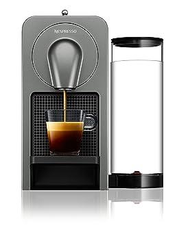 Krups Prodigio Independiente Totalmente automática Máquina de café en cápsulas 0.8L Titanio - Cafetera (