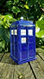 Police Box Money Box - Ceramic Time Travel Tardis Money box - Doctor Transporter