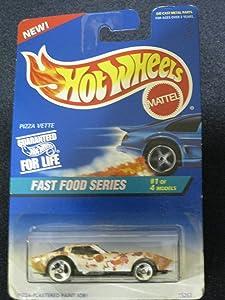 Hotwheels Pizza Vette-Fast Food Series #1 of 4 #416